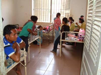 入院病棟は常に満杯、でも、ここに運ばれた人々は幸運である?