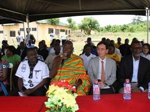 2012年10月3日 開所式に参列した来賓の皆様