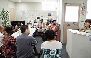 日本家族計画協会のクリニックにて若者に親切なクリニック運営に触れて