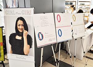 5月に行われたShinQs チャリティーピンキーリング販売イベント