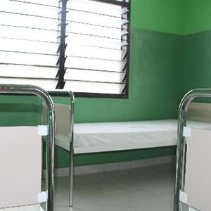 産後に身体を休めるベッド