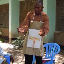 妊娠や出産の仕組み等を啓発するコミュニティ・ヘルスワーカー