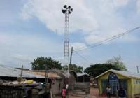 コミュニティラジオ(町内放送)のスピーカー