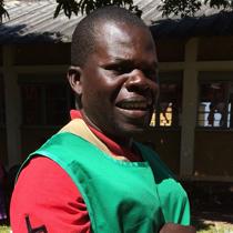 ポール サカラさん(男性) カンボワ地区 母子保健推進員