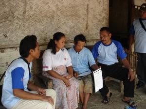 男性ボランティアによる家庭訪問