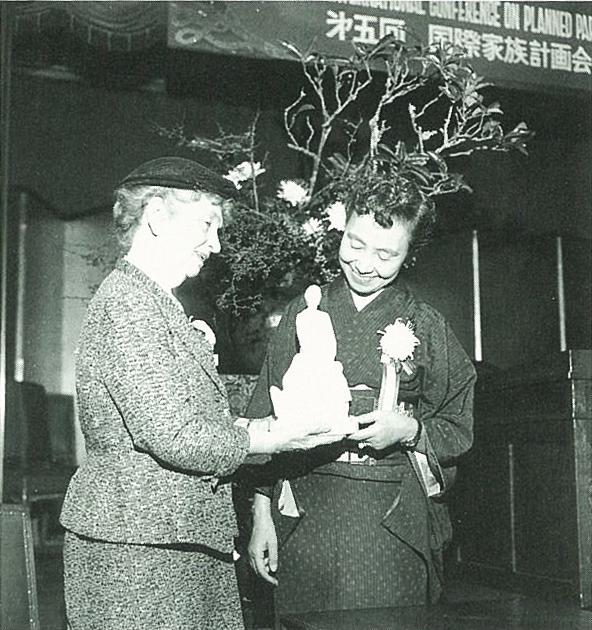 加藤シヅエ Mサンガー 1955年