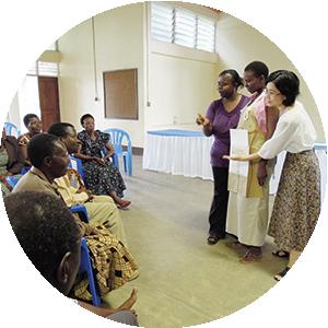 途上国での地域保健人材の養成